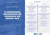 II Seminário Integrado