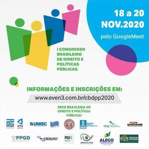 I Congresso Brasileiro de Direito e Politicas Públicas