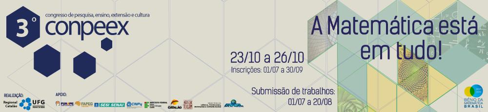 3º CONPEEX - Regional Catalão/UFG