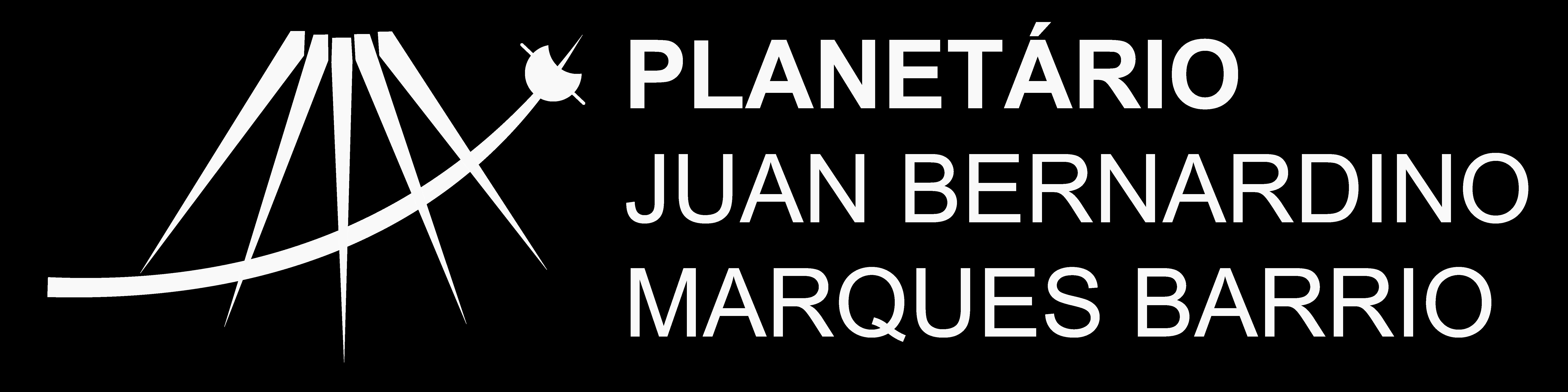 Planetário UFG Logo Branco