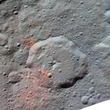 Material orgânico em Ceres