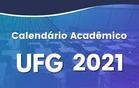 Calendário UFG 2021